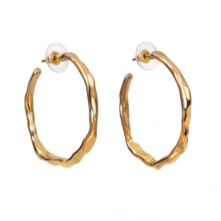"""Серьги кольца """"Golden Hoop"""""""