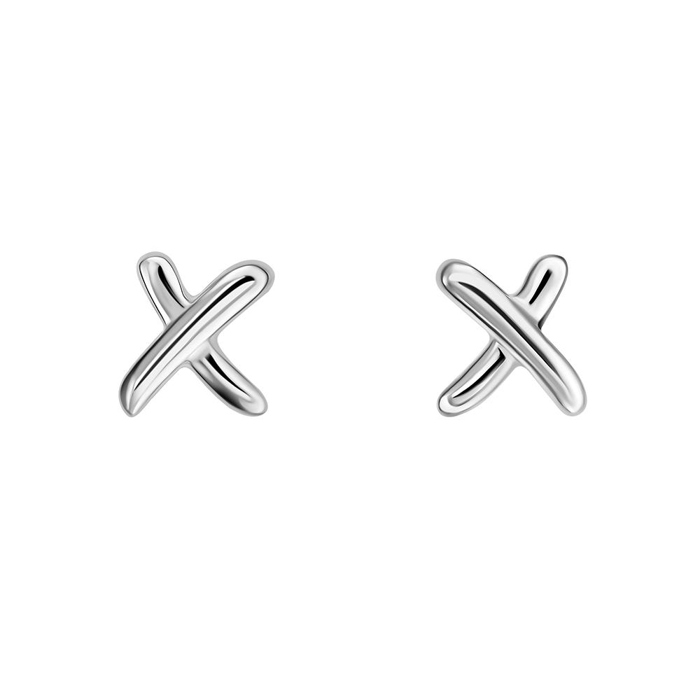 "Серьги ""X"""