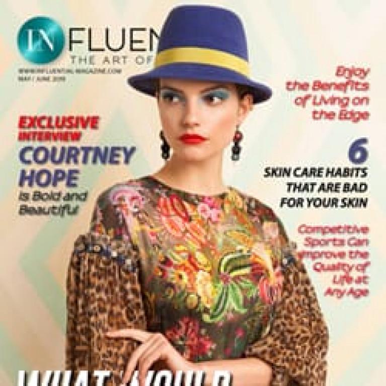 Обложка в InFluential Magazine и несколько волшебных разворотов!