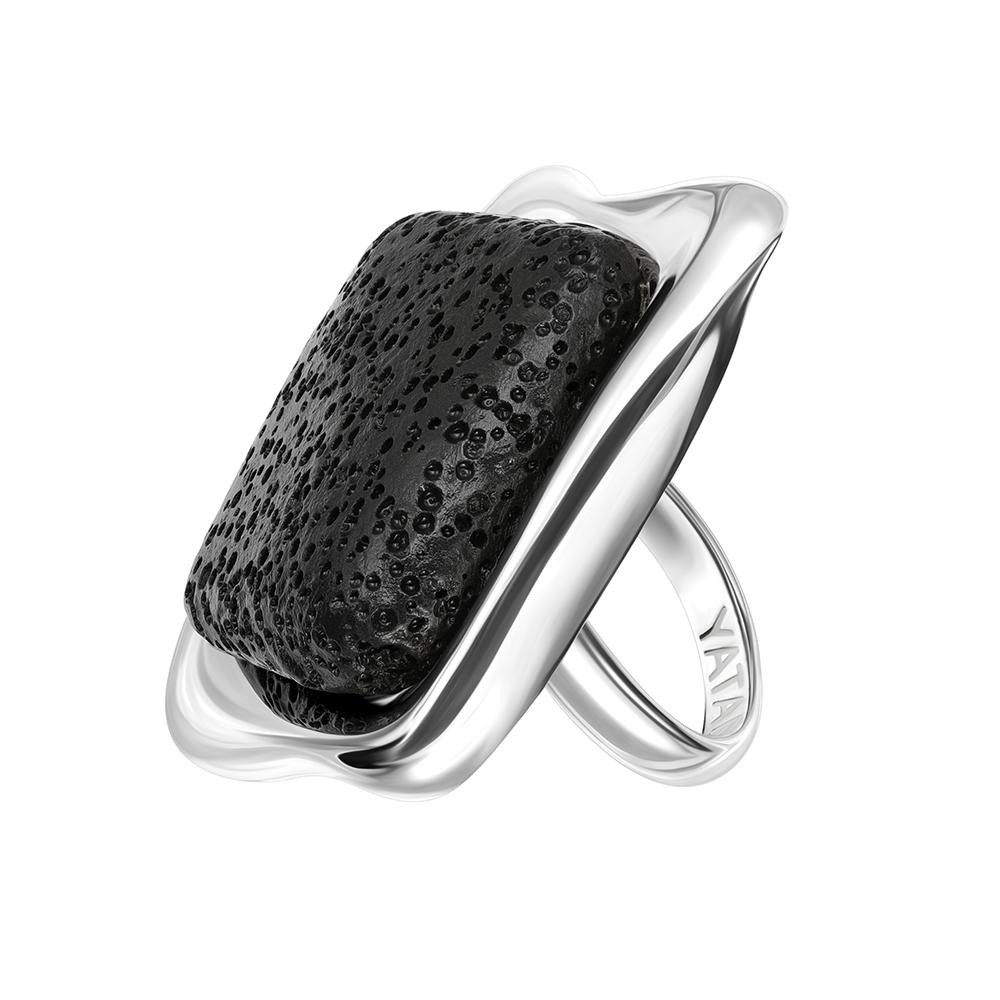 "Кольцо ""Lava. Квадрат"" серебро"