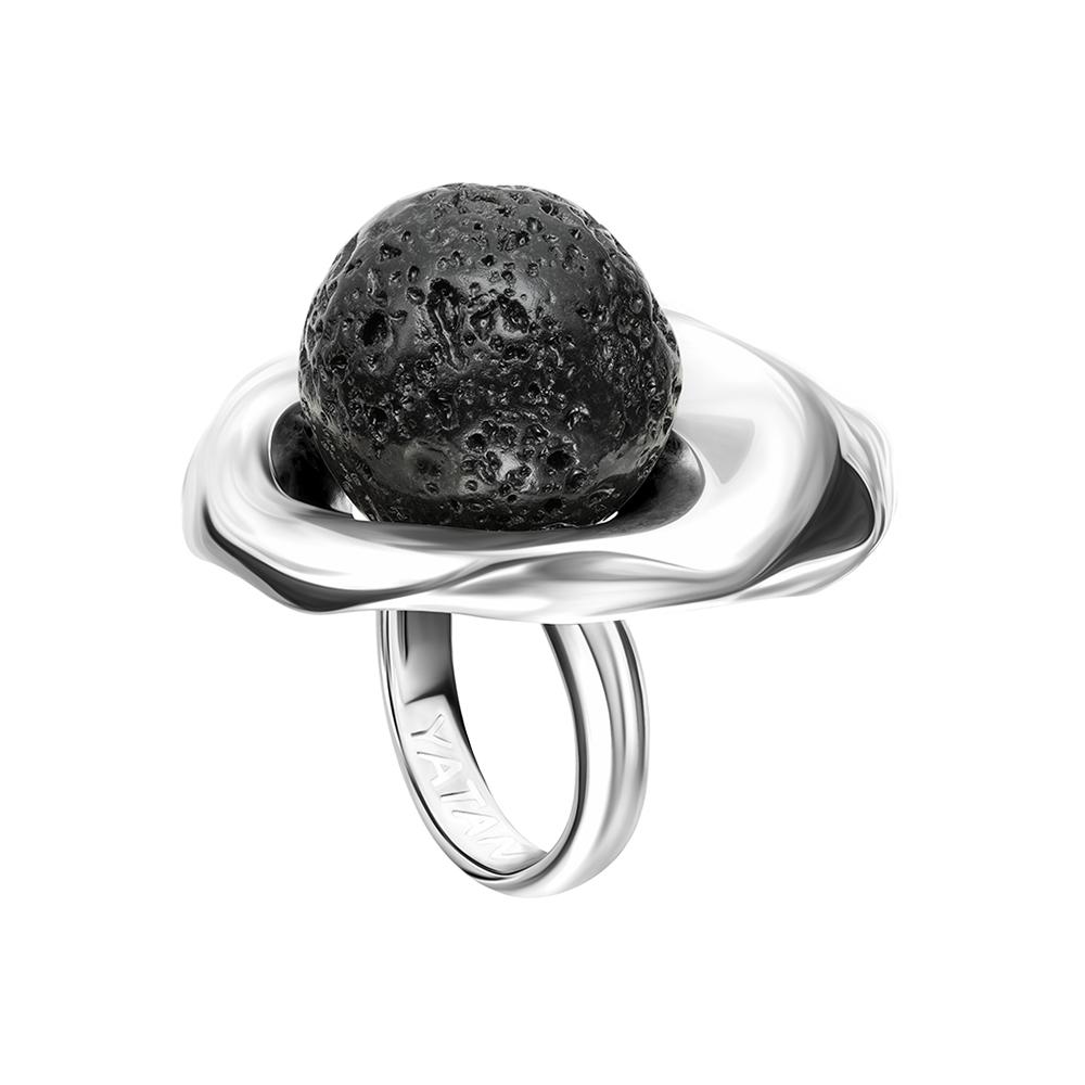 """Кольцо """"Lava.Шар"""" серебро"""
