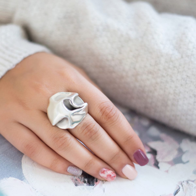 "Кольцо ""Freedom"" серебро"